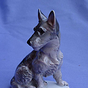 "1930 Scottish terrier Rosenthal Scotty dog 4"""