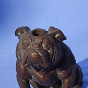 1930s Ronson  English bulldog lighter 5""