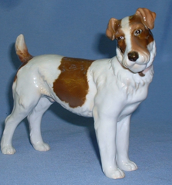 ..rare 1910s Schierholz Germany Fox Terrier Jack Russell 8""