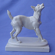 art deco Fox terrier Schnauzer Schwarzburger Germany