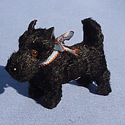 antique Scottish terrier dog Germany 4 French fashion doll