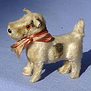 antique frisky FRIPON Scottish terrier salon dog French fashion doll Germany label 3""