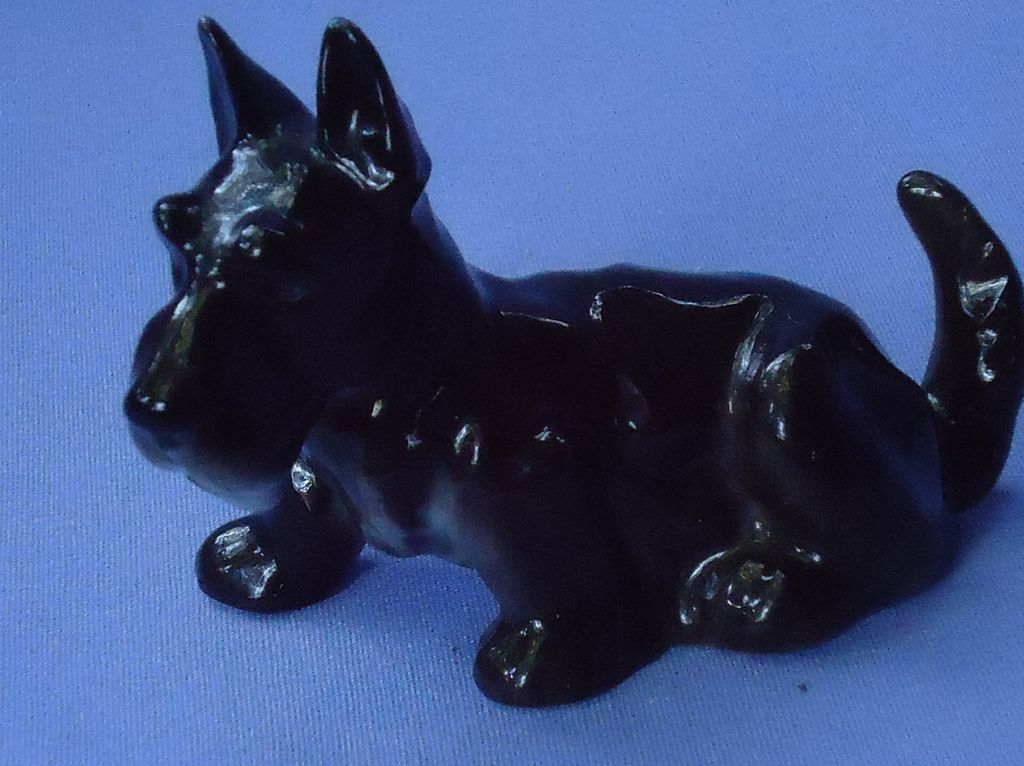 Scottish terrier Hutschenreuther Germany Scotty dog