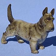 """1950s grey Scottish Terrier 5"""" Hutschenreuther Germany"""