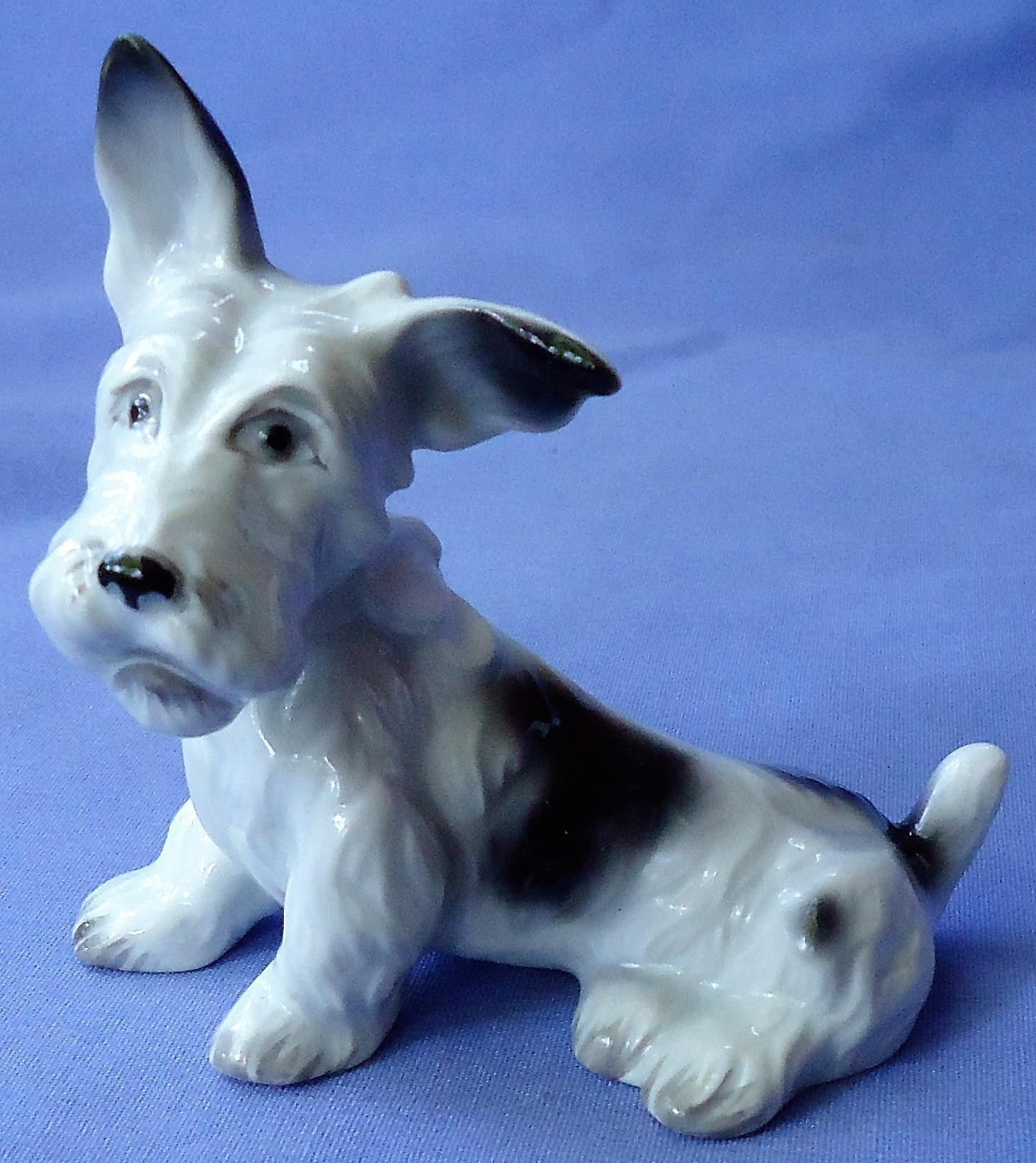 Scottish terrier Schlaggenwald Czechoslovakia 4""