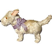 antique Scottish terrier squeaker salon Fripon dog French fashion doll Germany label 4""