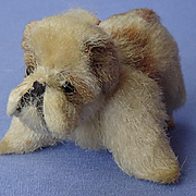 "antique Sealyham salon puppy dog French fashion doll Germany 3"""
