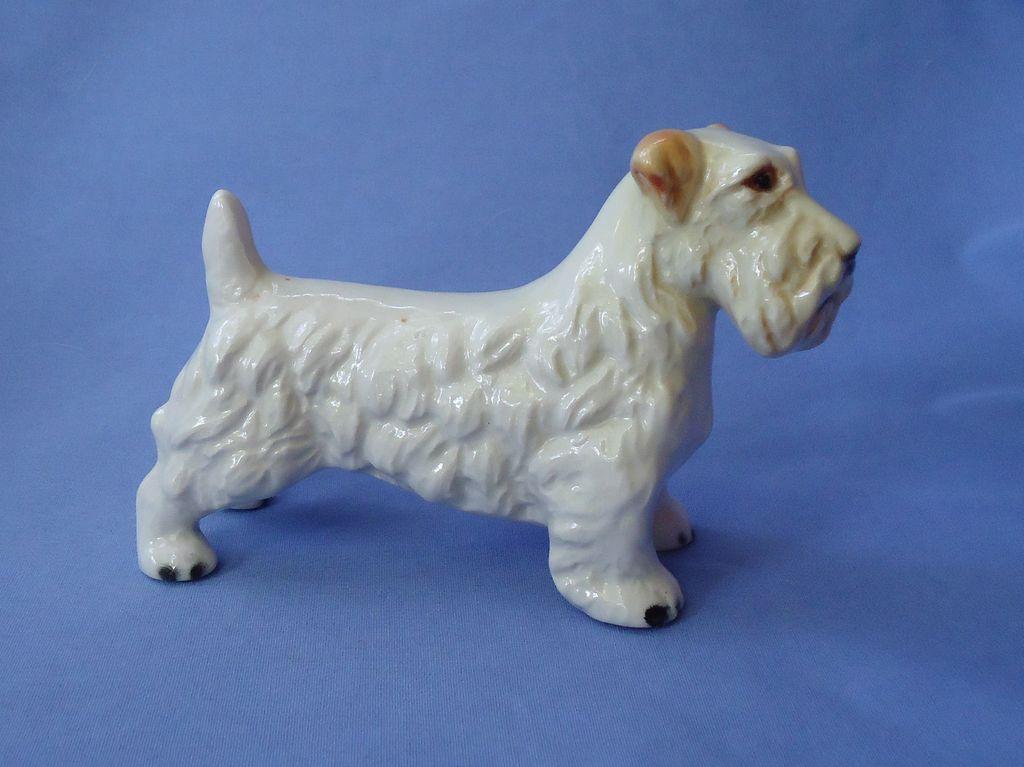 """vintage Goebel Germany Sealyham terrier 6"""""""