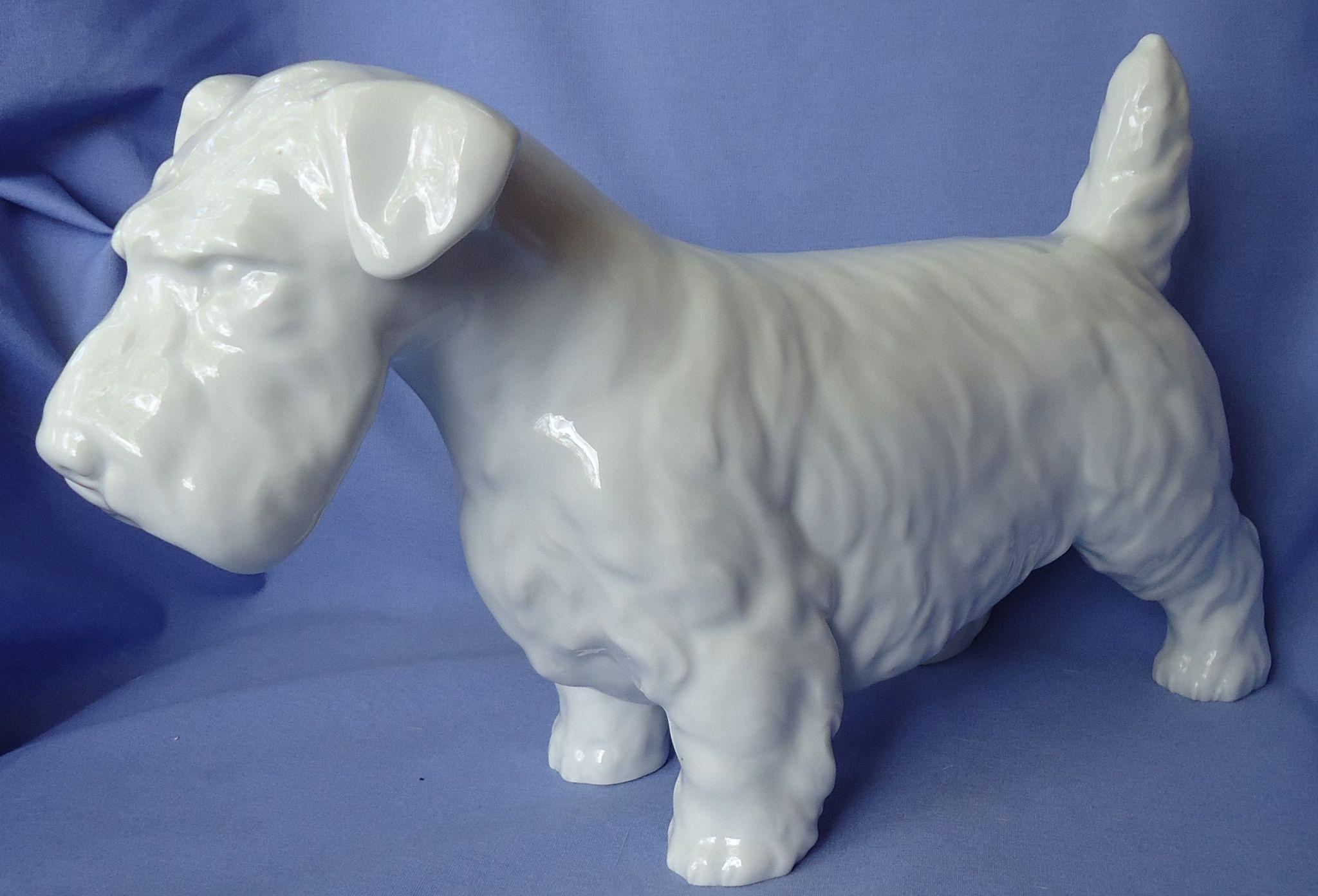 "13"" Sealyham Cesky terrier Rosenthal Germany"