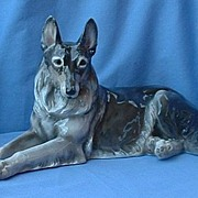 fabulous detail 1930s Schierholz Germany husky German shepherd 15""