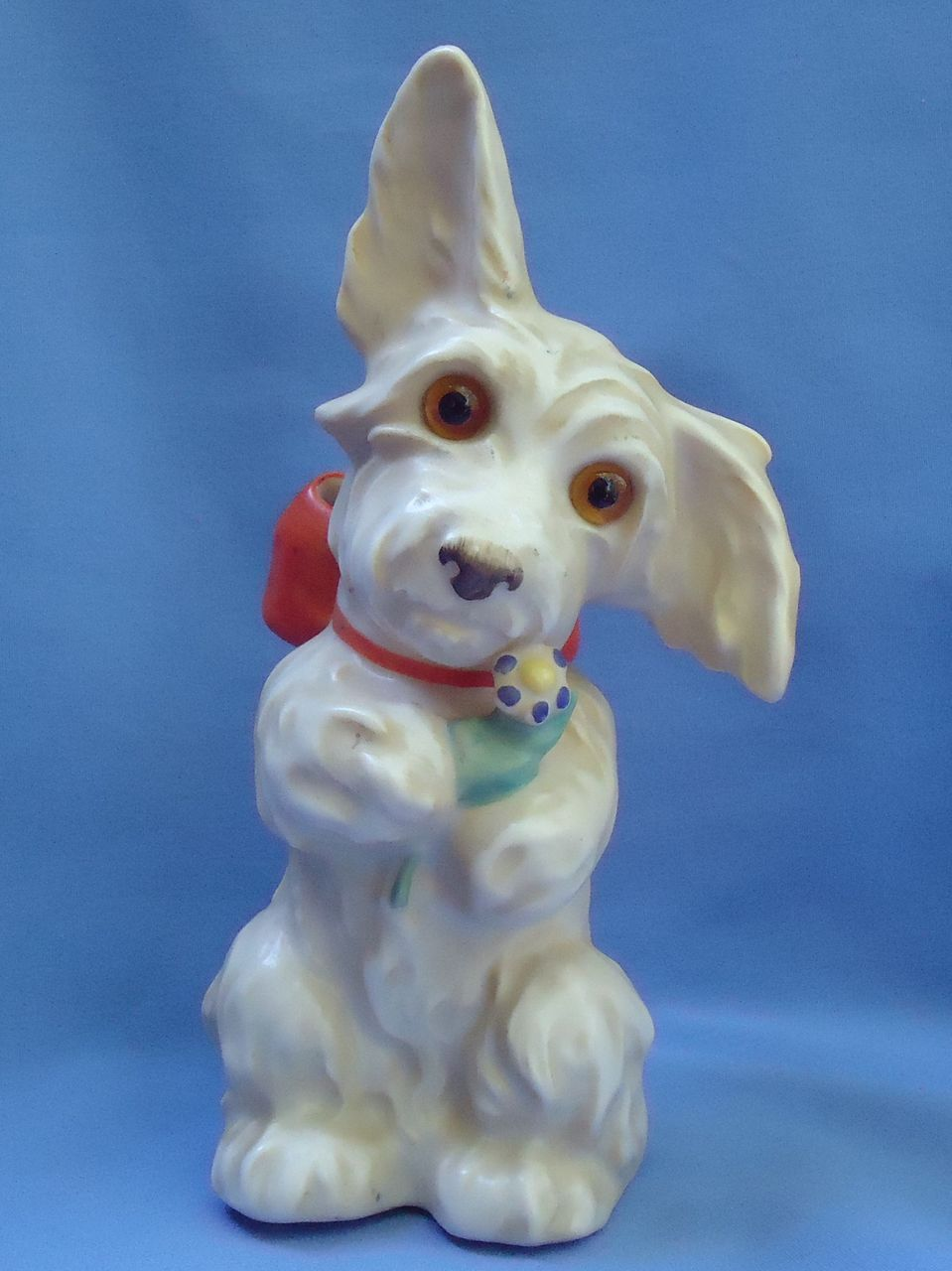 "Skye Silky Scottish terrier Scotty dog Goebel Germany perfume lamp 8"""