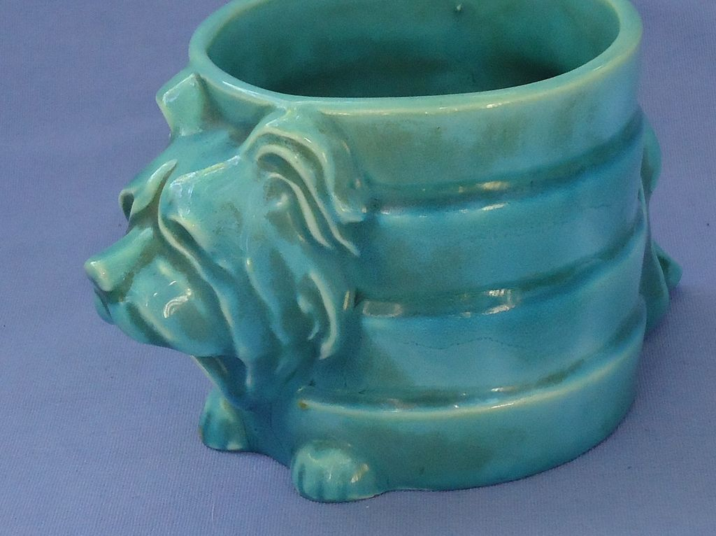 art deco Skye Silky terrier cigarette holder  Goebel Germany