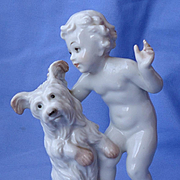 "1930 Skye Silky Yorkshire terrier Briard dog Rosenthal Germany 6"""