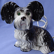 Skye Silky Yorkshire Papillon terrier Briard dog  perfume  lamp Germany 8""