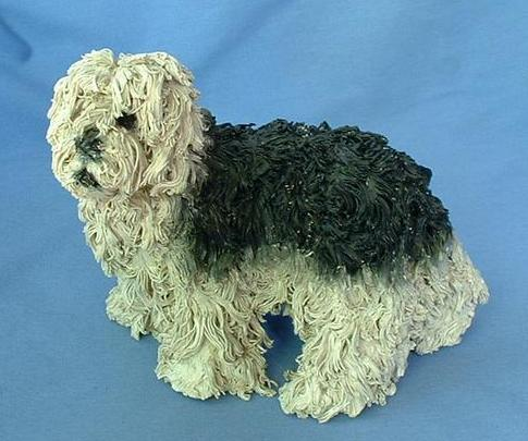 "Callender spaghetti old English Sheepdog 7"" OES"