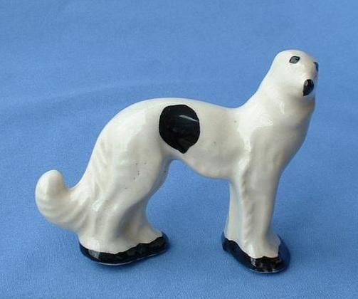 1930s Stangl dog wolfhound Borzoi