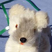 vintage fur terrier puppy Fripon salon dog French fashion doll Germany label