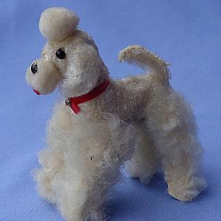"fur Poodle salon dog Germany label  French fashion doll 3"""
