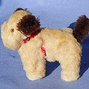 Sealyham  Cesky terrier salon dog French fashion doll companion Germany label