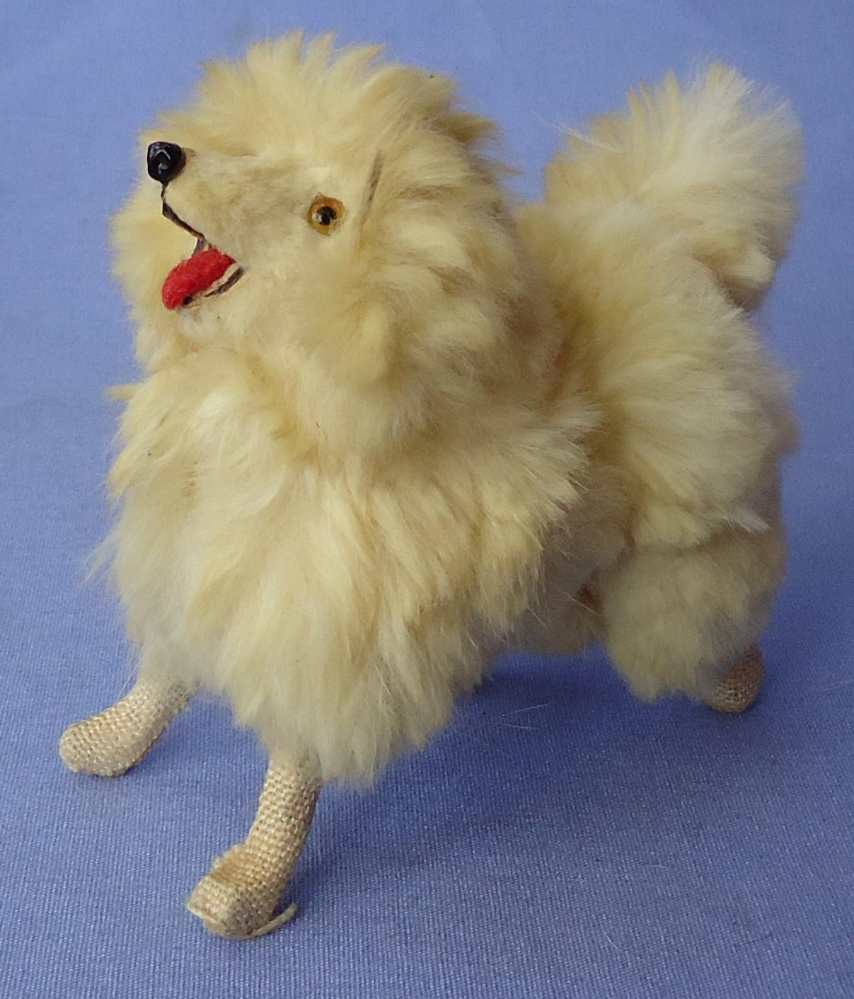 USZ Spitz Pomeranian salon dog French fashion doll Germany 3""