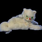 """fur cat French fashion doll Germany 3"""""""