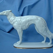 1930 Art deco BORZOI Bavaria 11""