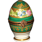 Limoges France Peint Mein Egg Box