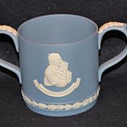 Wedgwood Jasperware Loving Cup - Pope John's Visit