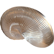 Baccarat Nautilus/Conch Shell Sculpture or Paperweight