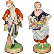 Beautiful Carl Thieme Dresden Figurines