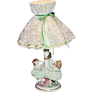 "MZ Dresden ""Ring a RIng a Rosie"" Lace Lamp"