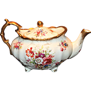 "Hammersley ""Lady Patricia"" Teapot Signed Howard"