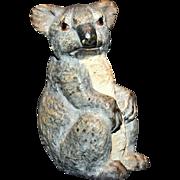 Austrian Bronze Koala Bear