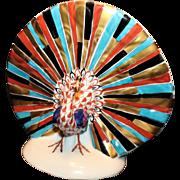 Herend Fishnet Peacock