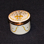 Alastor Enamels Box - Bouquet of Daffodils