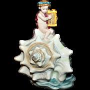 "Minton Figure ""La Enfant a la Lyre"" From Ltd Ed Series La Enfants De Las Mer"