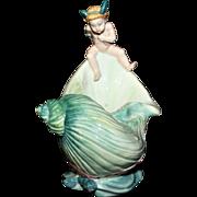 """Minton """"L' Enfant Au Chariot"""" Figurine"""