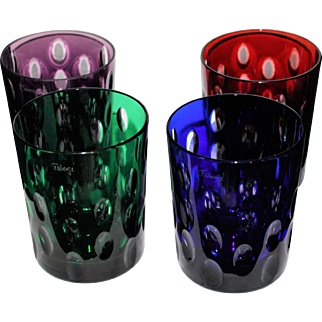 Set of 4 Faberge On The Rocks Tumblers