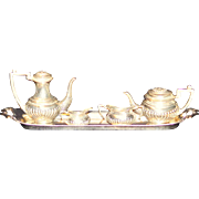 Miniature Sterling Tea Set Birmingham England