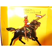 For your consideration, one Britains 8819 16th Queens Lancer Figure Metal Toy Soldiers W Britains Mint in Box.
