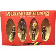 Britains Metal figures-Royal Marine figures. #7201