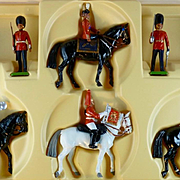 Britain's set# 7218 includes Her Majesty, Queen Elizabeth and company