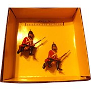 Britains toy soldiers-Sherwood Foresters Regiment Band