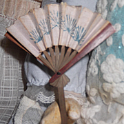 Antique fan for Bebe or Fashion Doll