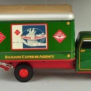 Press Steel Marx Railway Express Agency Truck