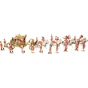 Rare-Extraordinary-English Coronation Processional by Britains 1937 from The Lego Museum in Germany