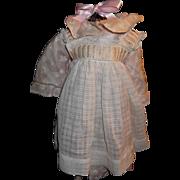 Antique Original French Original Dress for French Bebe