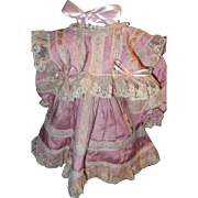 Very Pretty Pink Bebe Dress, Lots of Lace!
