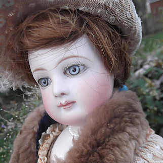 Beautiful French Bisque Poupee by Jumeau