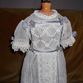 French  Bebe Dress From an EJ Jumeau